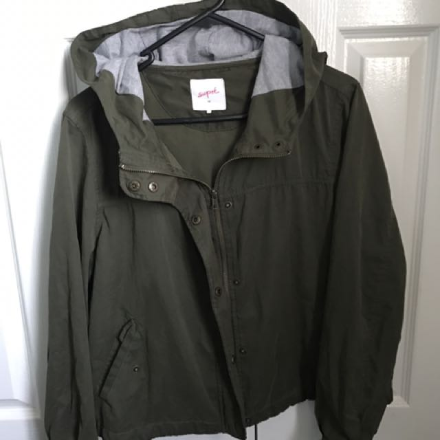 Khaki Green Light Jacket