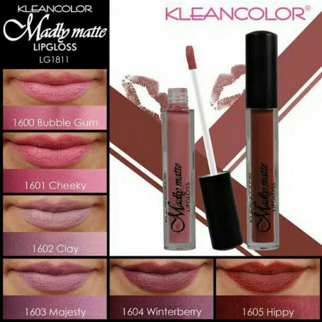 Kleancolor Lip Cream