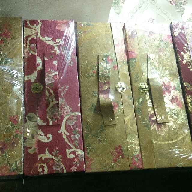 kotak hantaran / seserahan koper
