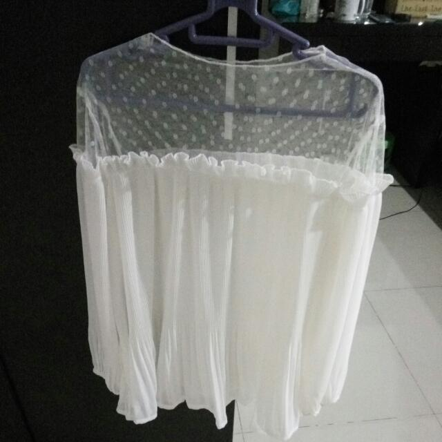 LACE TOP WHITE PREMIUM