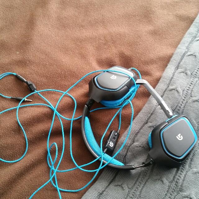 Logitech Gaming Headphones