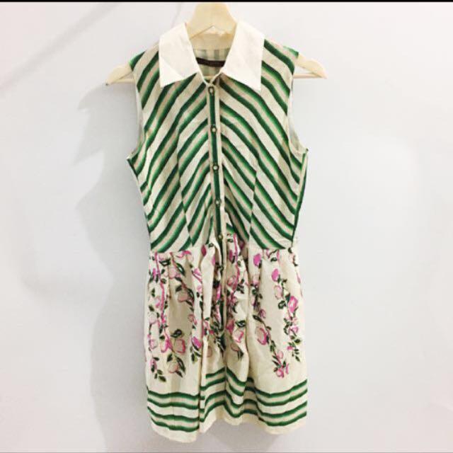 LV dress look a like