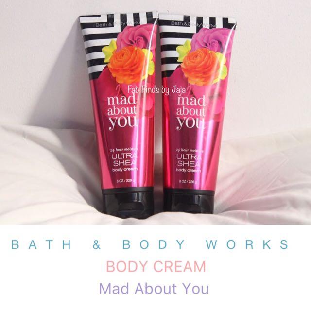 Bath & Body Works Body Cream Mad About You
