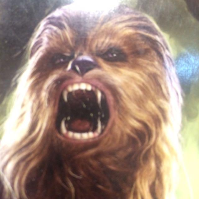 maianan yg mengingatkan istri kalo lg marah starwars chewbacca #jualmainan