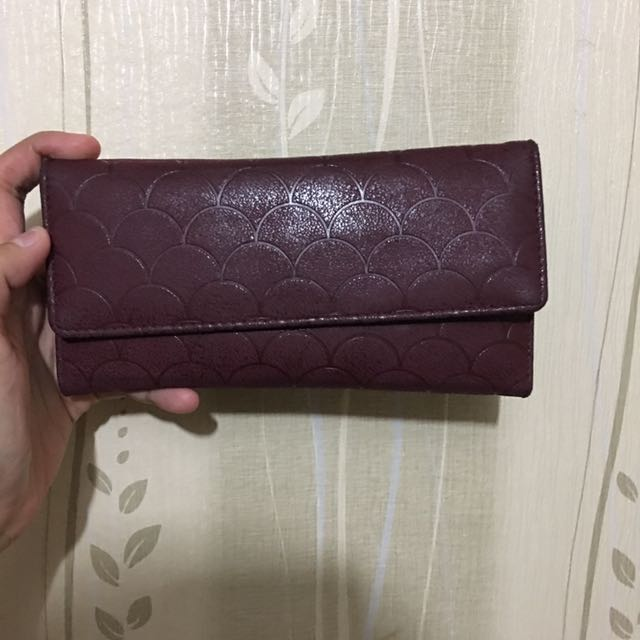 Marron Flash Wallet
