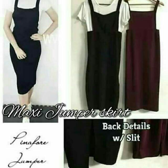 Maxi Jumper Skirt