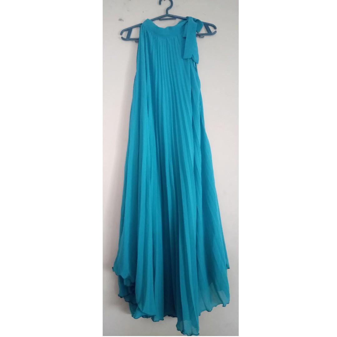 Maxidress (Blue Green)