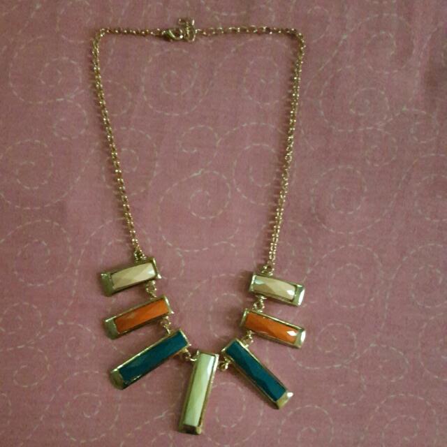 Milticolor Fashion Necklace