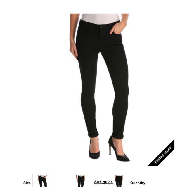Miss Shop New Jeans Size 8 Black
