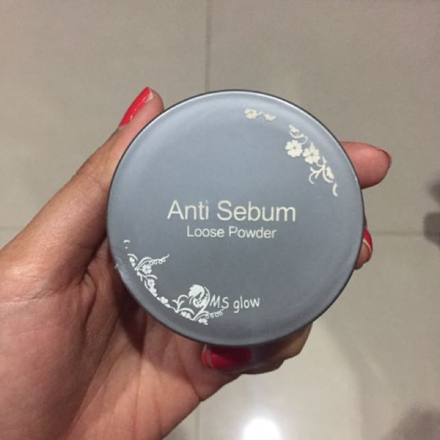 MS GLOW Anti Sebum Loose Powder
