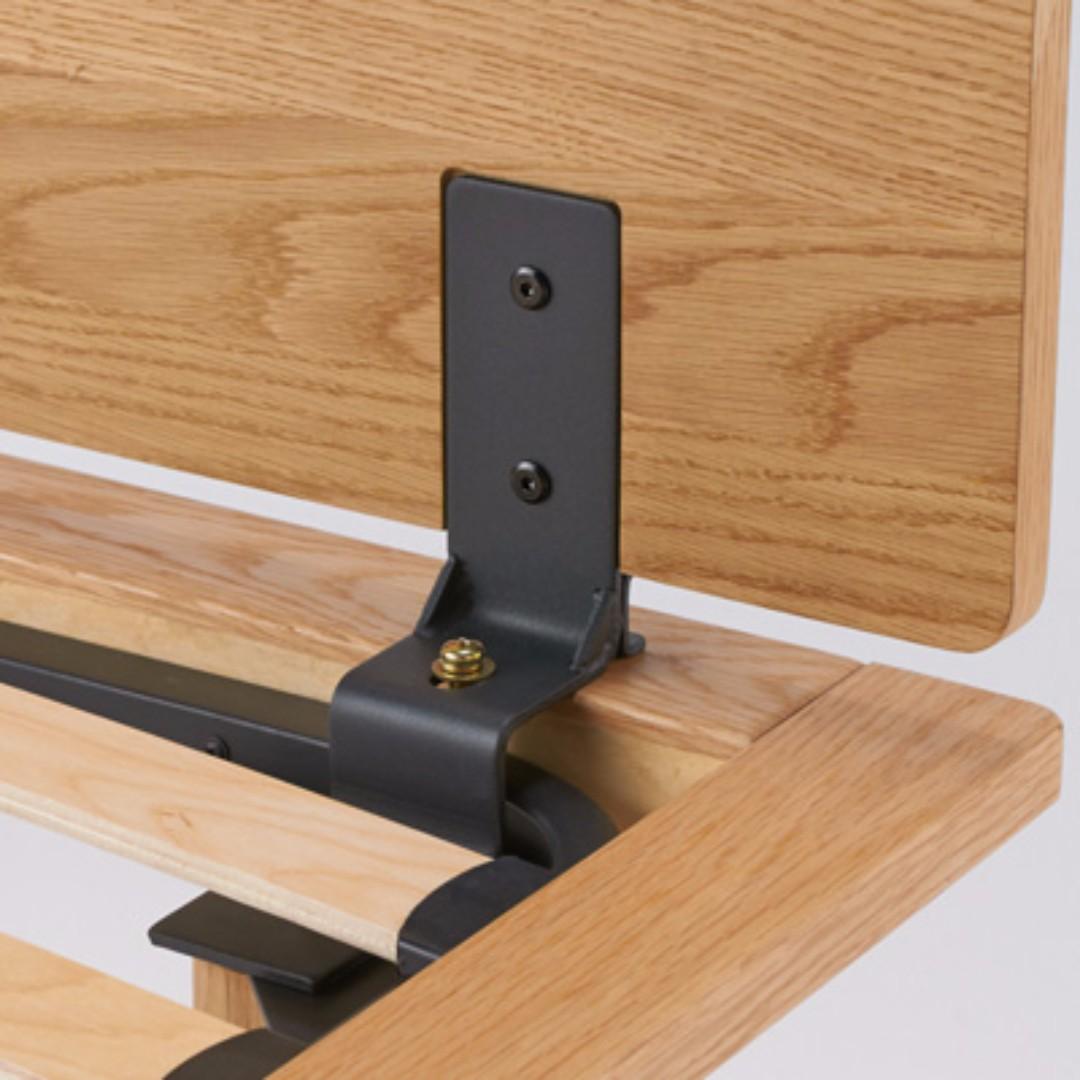 muji oak single bed frame x 2 pcs home furniture furniture mattresses bed frames on carousell - Muji Frames