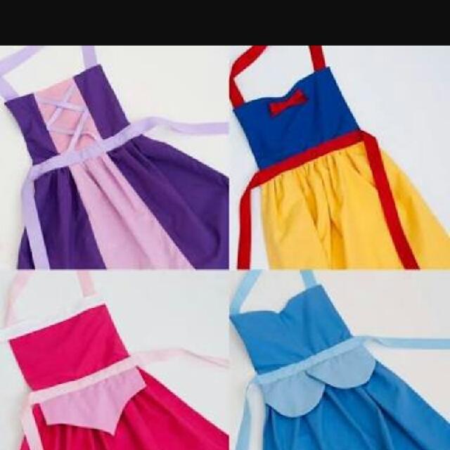 NEW DISNEY PRINCESS APRONS costume