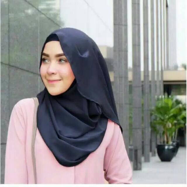 New Jilbab Vivy Instan Vanilla Look Like