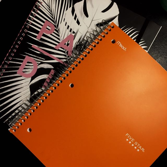 Notebooks (both for 250)
