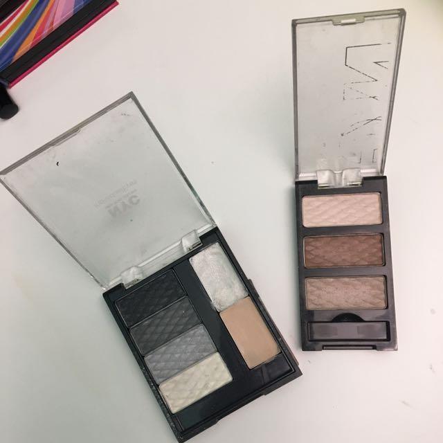 NYC Eyeshadow Palettes