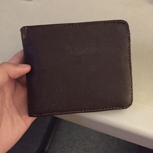Oxygen Leather Wallet
