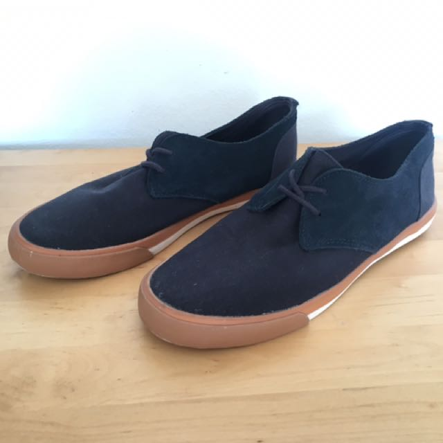 Pointer Men's Navy Canvas Lace Up US 9