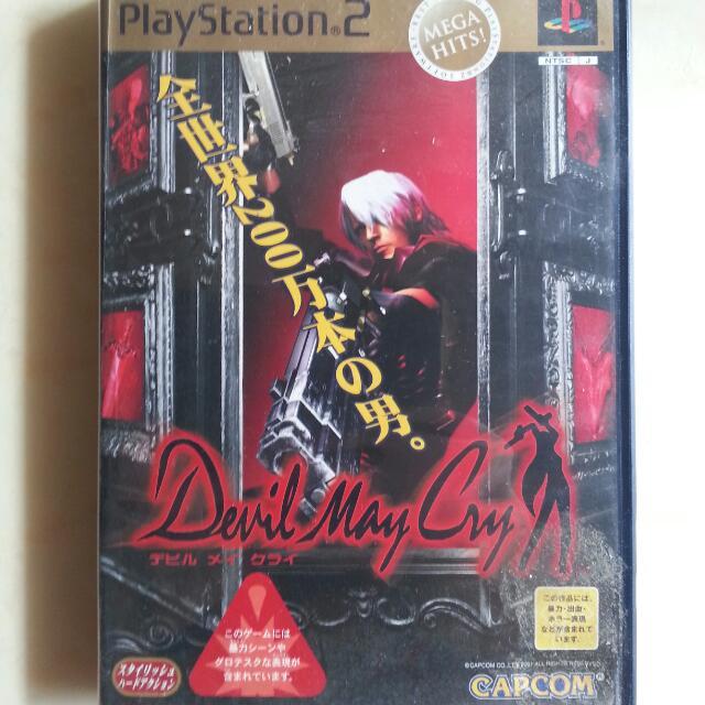 PS2 惡魔獵人 日版