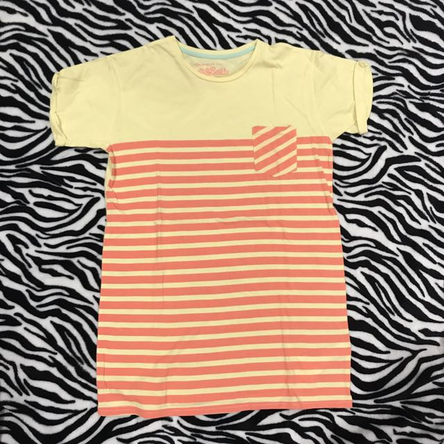 pull&bear striped tee