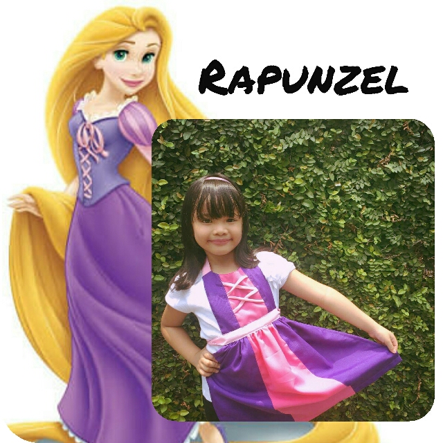 Rapunzel Disney Apron costume