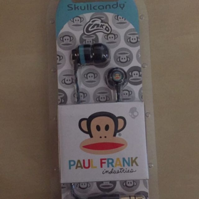 Skullcandy Paul Frank Earphones Earbuds
