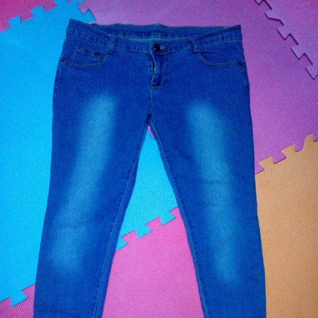 Strechable BLue Pants