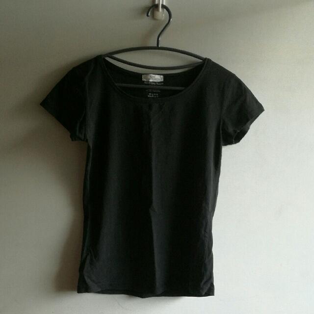 黑素T #T-shirt #素面 #出清 #低價