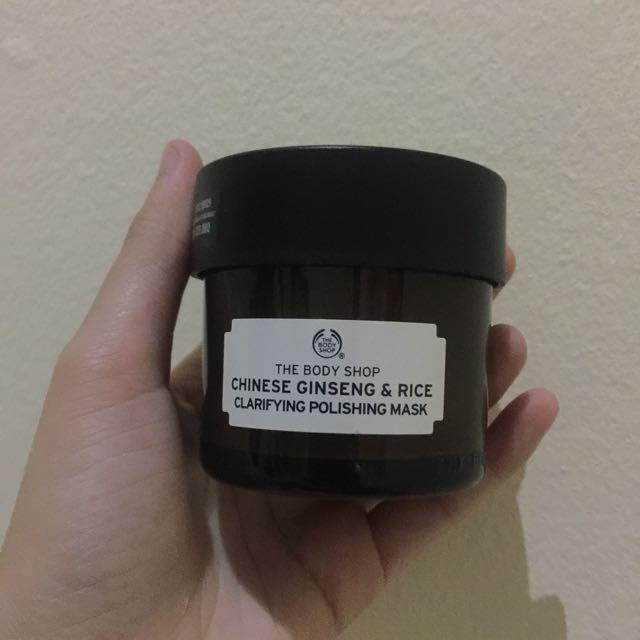 The Body Ship Chinese Ginseng & Rice Clarifying Polishing Mask