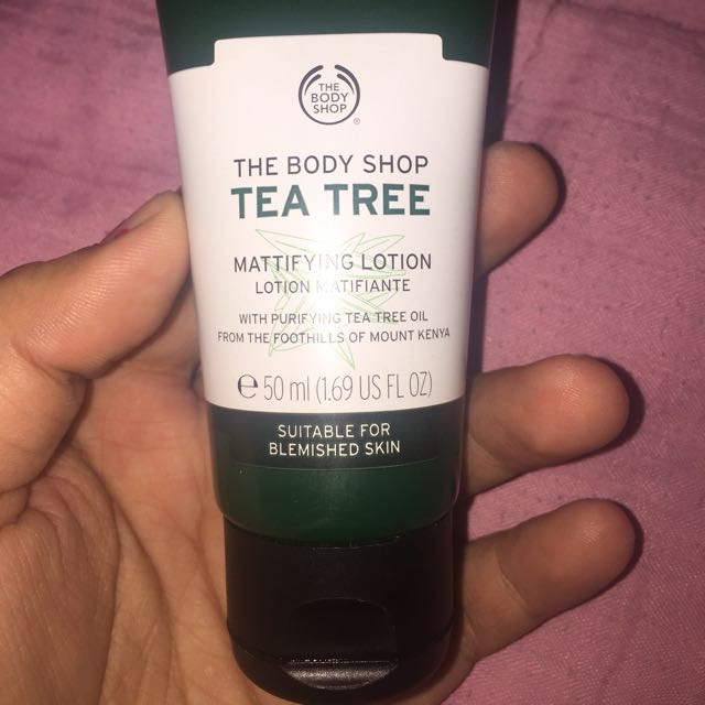 "The Body Shop ""Tea Tree"" Mattifying Lotion"