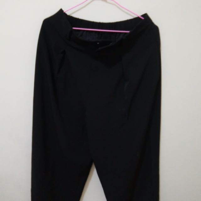Uniqlo黑色寬褲♥️