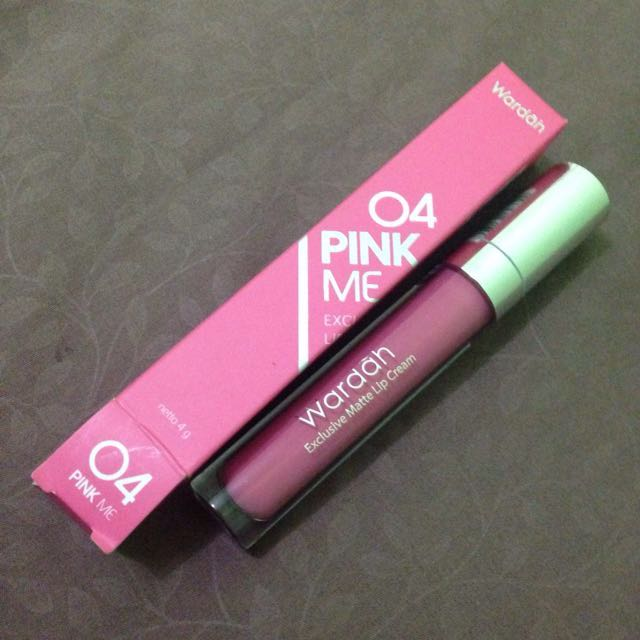 Wardah Pink Me (04) Exclusive Matte Lip Cream