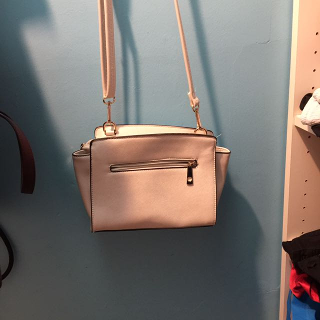 White Cross Body Purse
