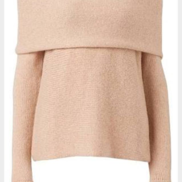 Witchery Fold Over Knit Small - RRP $150 BNWT