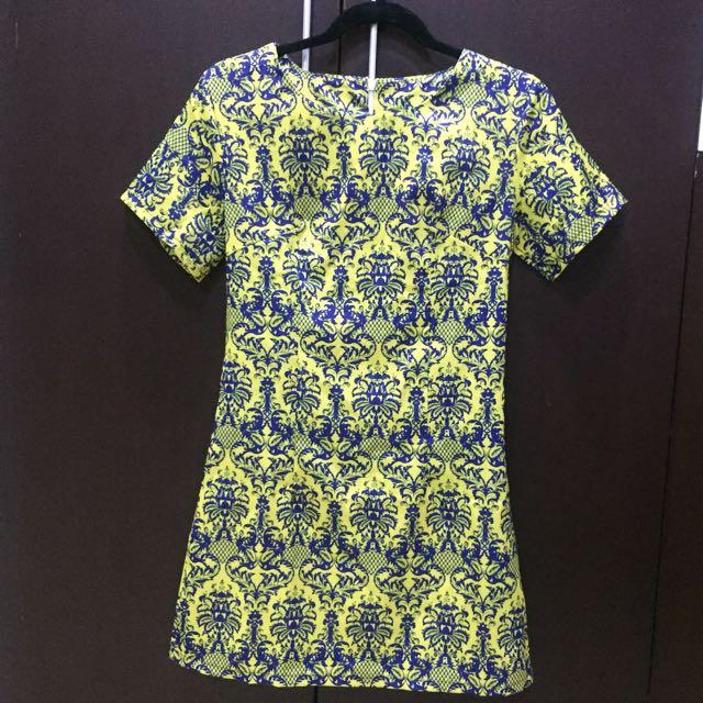 Yellow Royal Dress