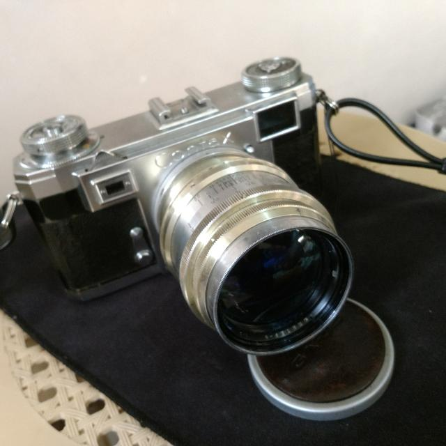 Zeiss ikon contax iia With Jupiter 9 85mm F2