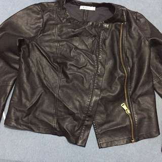 Thin Leather Jacket
