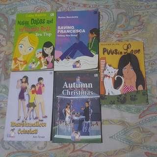 Teenlit Books Bundles (Romance Novels For TEENS)