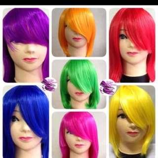 Wigs class A bobcut