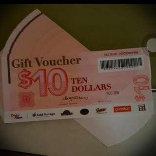 Value $1000 Daily Farm Choice Voucher