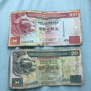 90's Vintage Cash Note