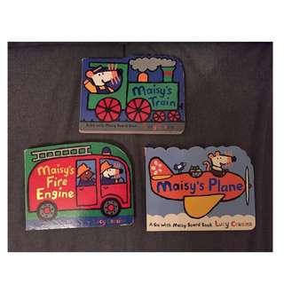 Maisy's Train, Fire Engine, Plane