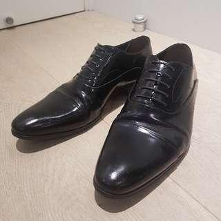 a.testoni 男裝皮鞋 極新淨, 買時3k3