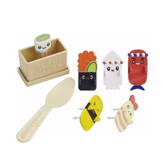 Sushi Kids mold to make fun lunch box to your kids!   (SHIP FROM JAPAN)