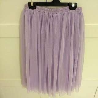 Sweet Lavender Purple Tulle Skirt #ramadan50