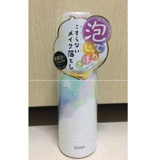 【私物 全新】日本SANA卸妝洗顏碳酸泡沫140G
