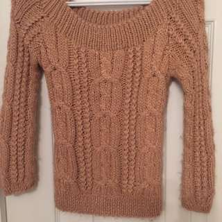 Annex Cable Sweater - Size Xs