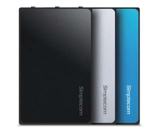 "Simplecom SE325 Tool Free 3.5"" SATA HDD to USB 3.0 Hard Drive Enclosure Black"