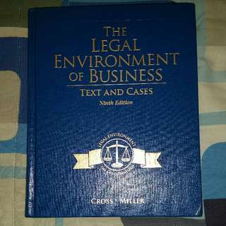 The Legal Environment Of Business 9th Edition