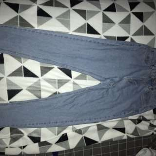 Vintage High Was it Jeans, Washed