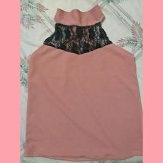 *ON HAND* LACE HALTER SLEEVELESS WOMEN'S TOP PHP 90